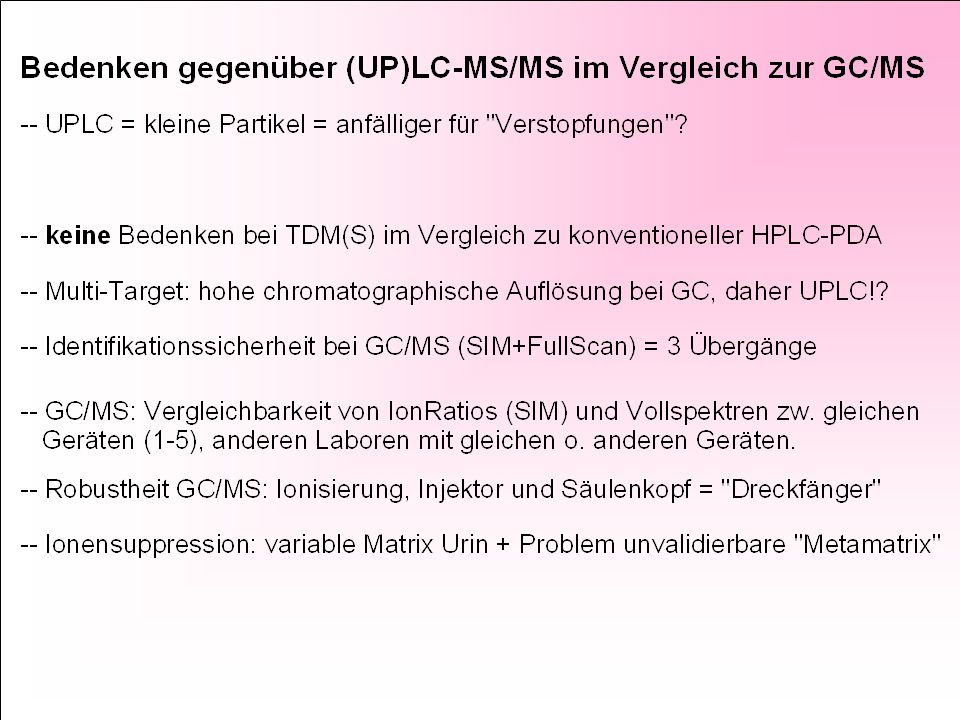 EtG and EtS with LC/MS-MS