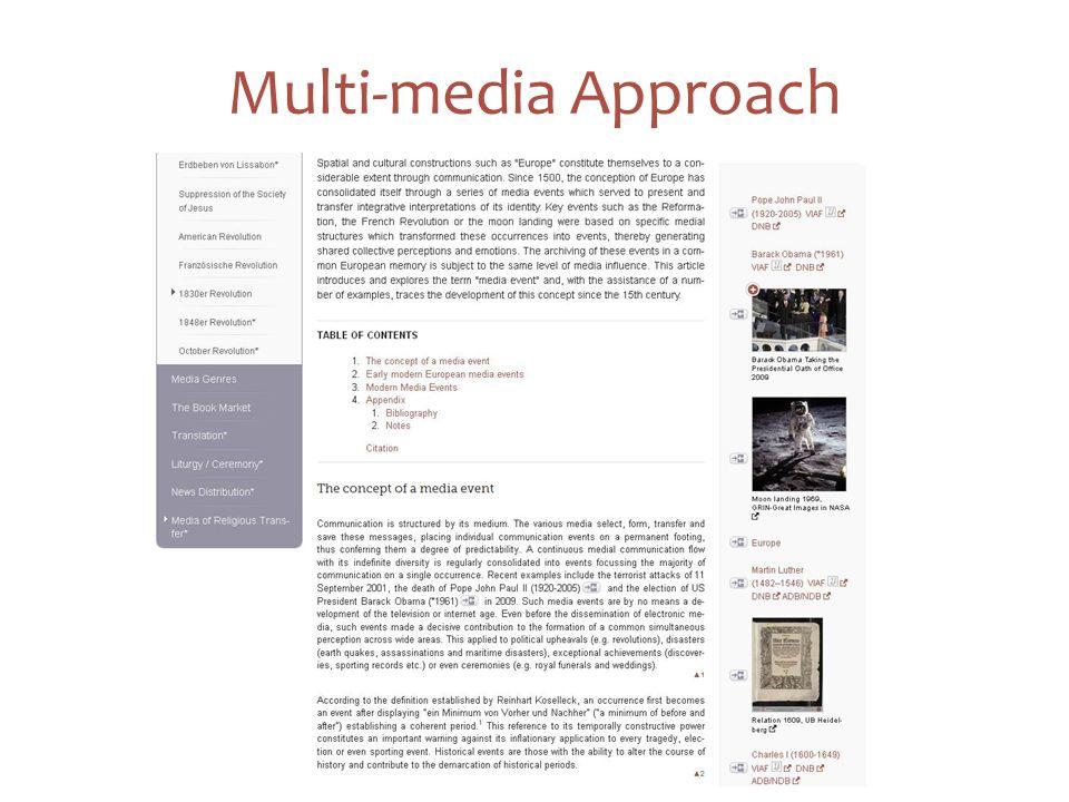 11 Multi-media Approach
