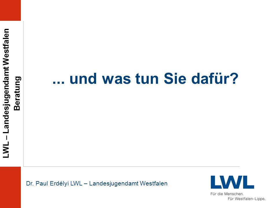LWL – Landesjugendamt Westfalen Beratung Dr. Paul Erdélyi LWL – Landesjugendamt Westfalen...