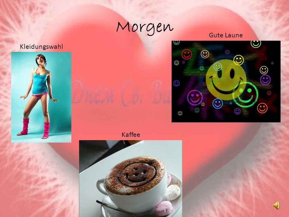 Morgen Kleidungswahl Gute Laune Kaffee
