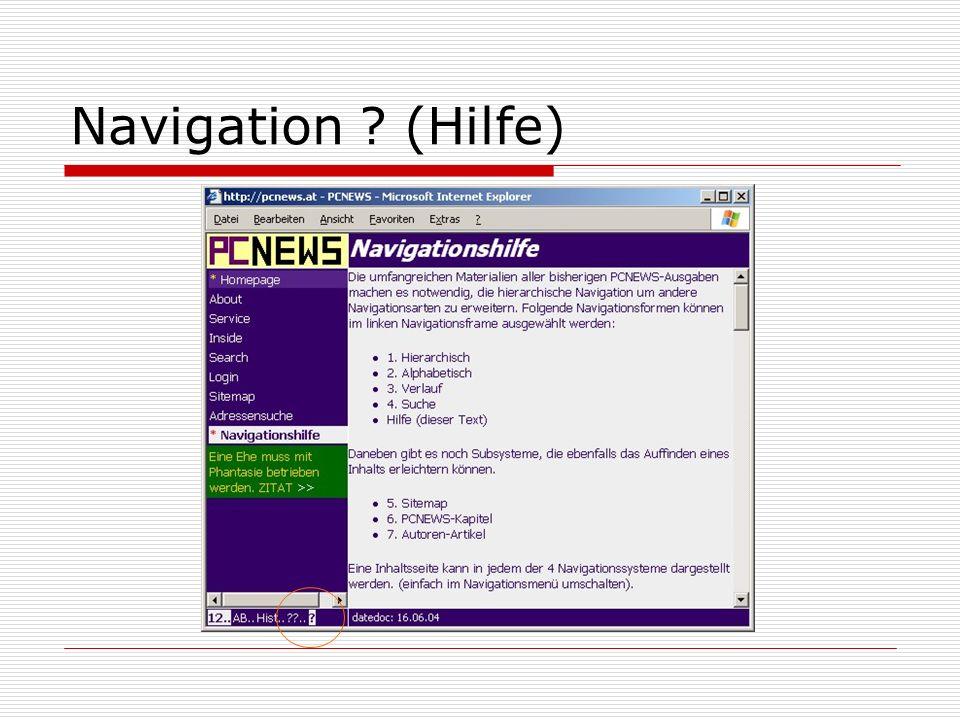 Navigation (Hilfe)