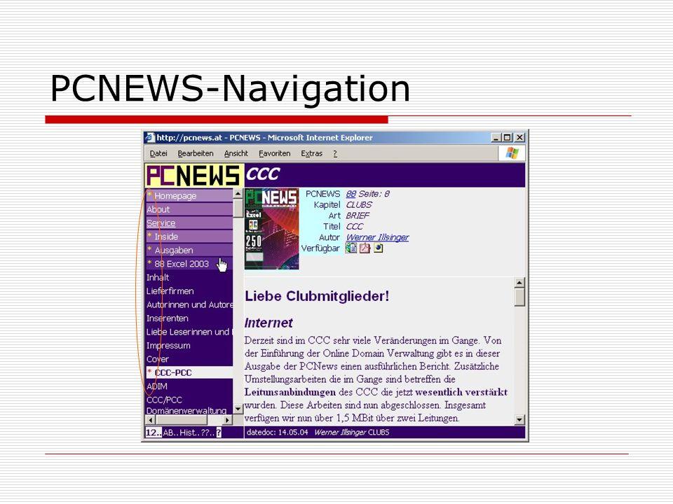 PCNEWS-Navigation