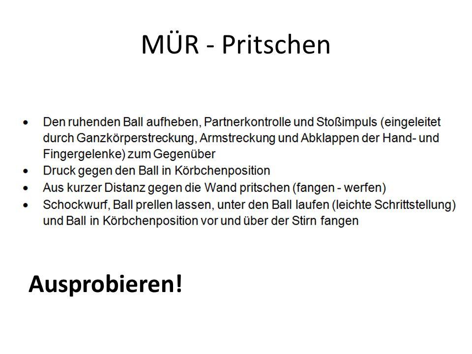 MÜR - Pritschen Ausprobieren!