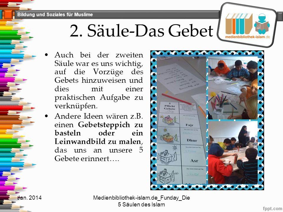 Bildung und Soziales für Muslime 2.Säule-Das Gebet (2) Jan.