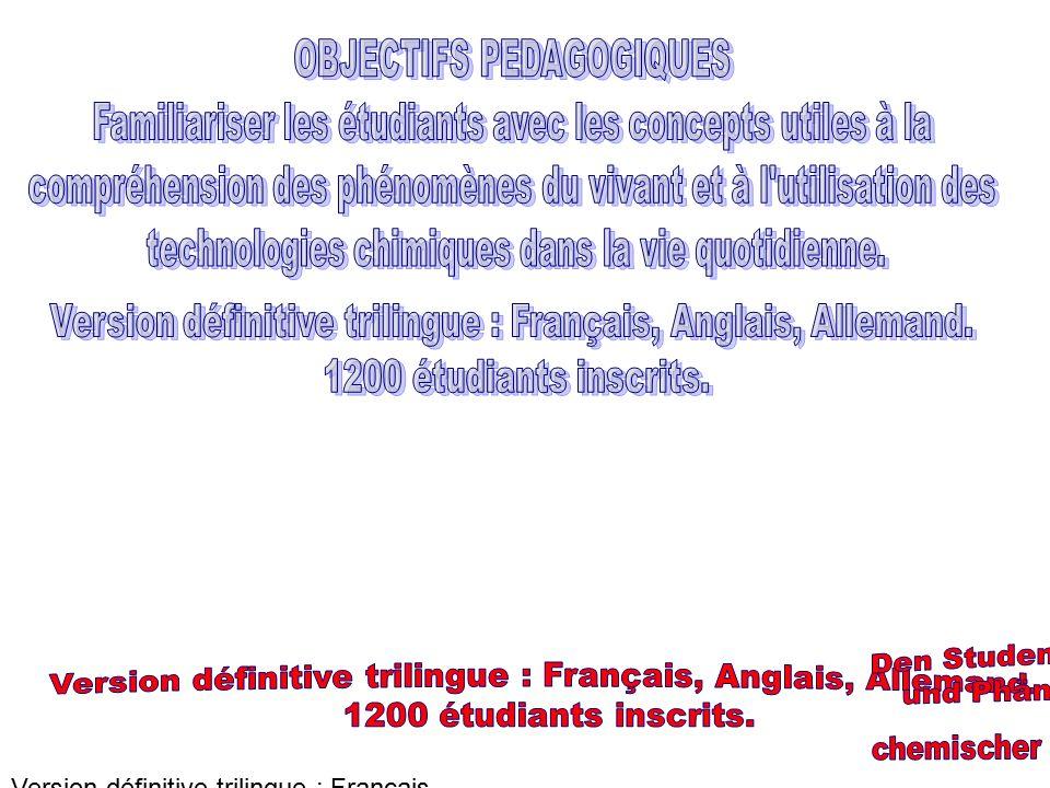 INTERFACE CHIMIE-BIOLOGIE Pour comprendre les sciences de la vie, la biologie, des connaissances de base en chimie sont nécessaires.