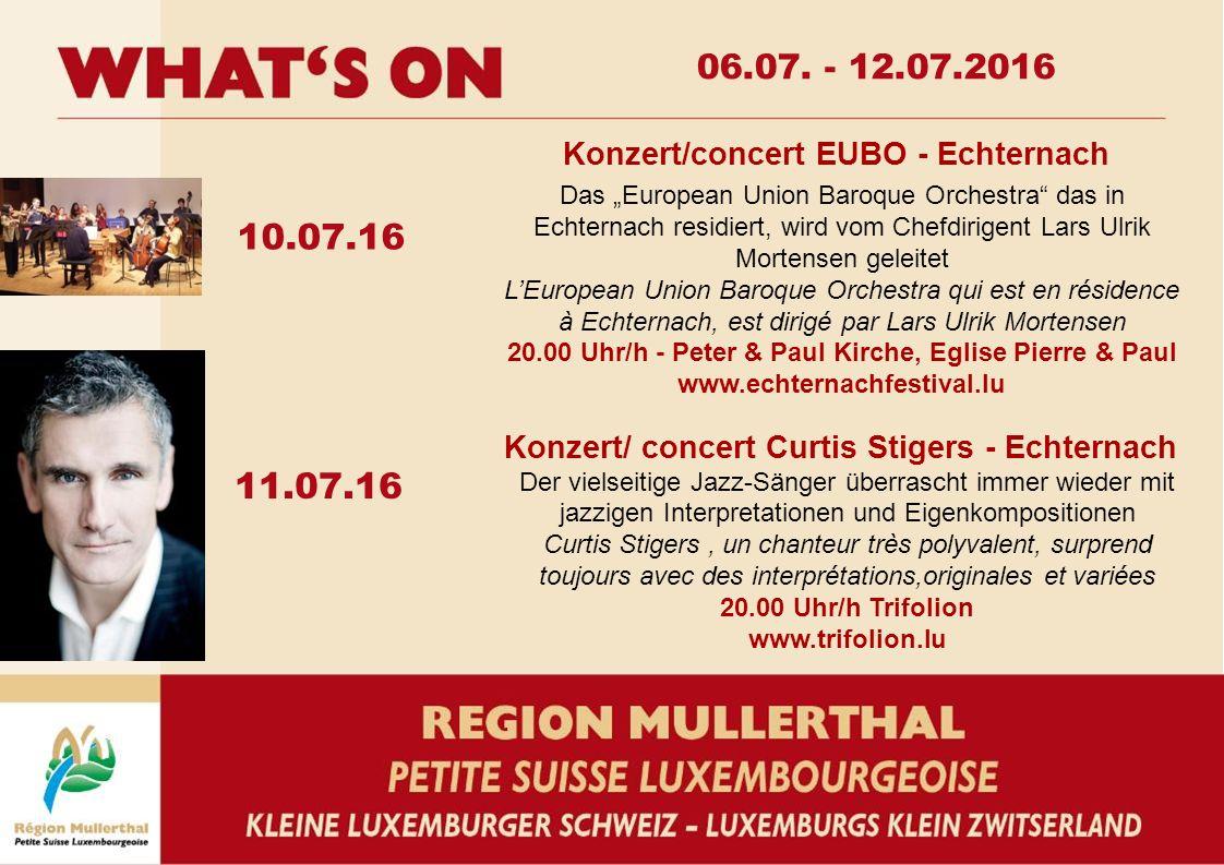 """10.07.16 11.07.16 Das """"European Union Baroque Orchestra"""" das in Echternach residiert, wird vom Chefdirigent Lars Ulrik Mortensen geleitet L'European U"""