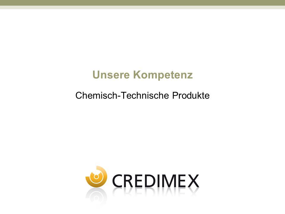 Unsere Kompetenz Chemisch-Technische Produkte