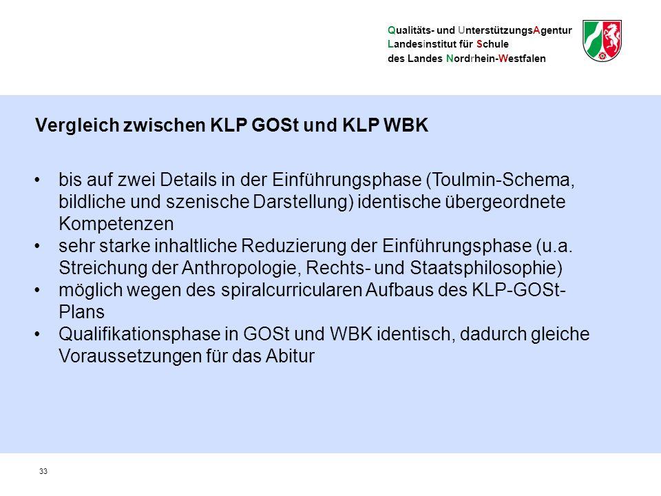 Qualitäts- und UnterstützungsAgentur Landesinstitut für Schule des Landes Nordrhein-Westfalen 34