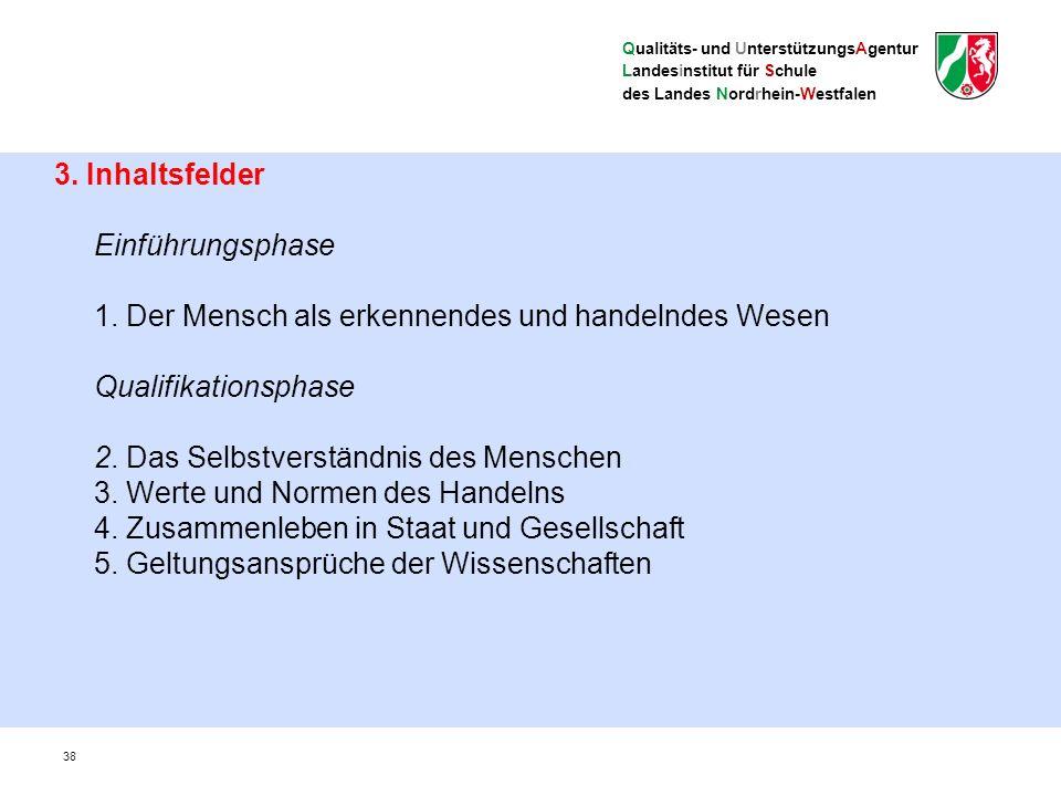 Qualitäts- und UnterstützungsAgentur Landesinstitut für Schule des Landes Nordrhein-Westfalen 4.
