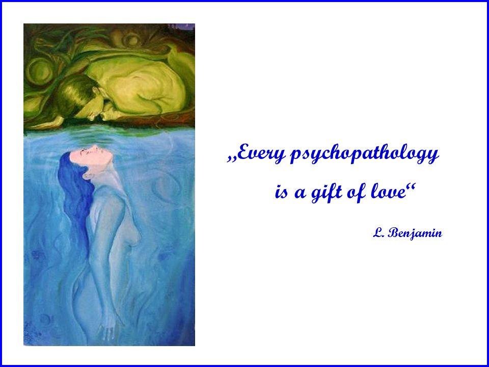 "KLINIK UND POLIKLINIK FÜR PSYCHOTHERAPIE UND PSYCHOSOMATIK www.psychosomatik-ukd.de ""Every psychopathology is a gift of love"" L. Benjamin"
