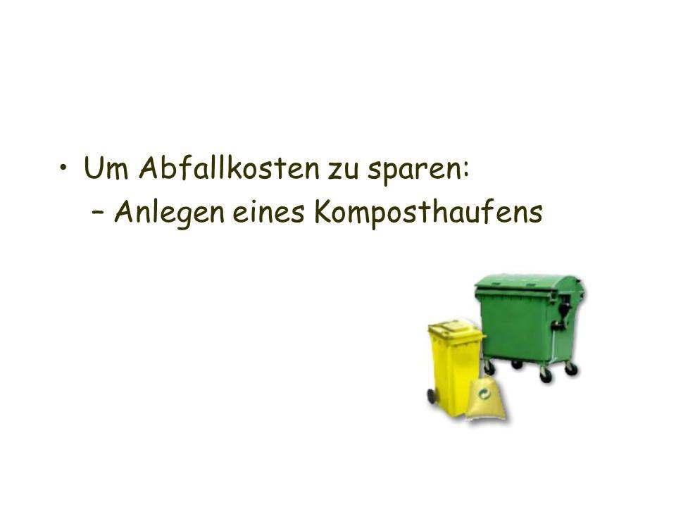 Abfall Am Kiosk die Mitarbeiter darauf hinweisen, dass keine Verpackungstüte benötigt wird  dies zählt auch zu Abfallvermeidung aber: auch weniger Müll auf den Fluren bzw.