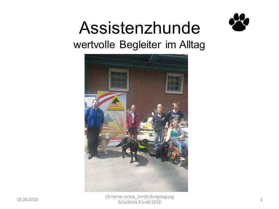 Assistenzhund LEO 18.04.2016 Christine Utrata_Fortbildungstagung Schulärzte S trobl 2016 12