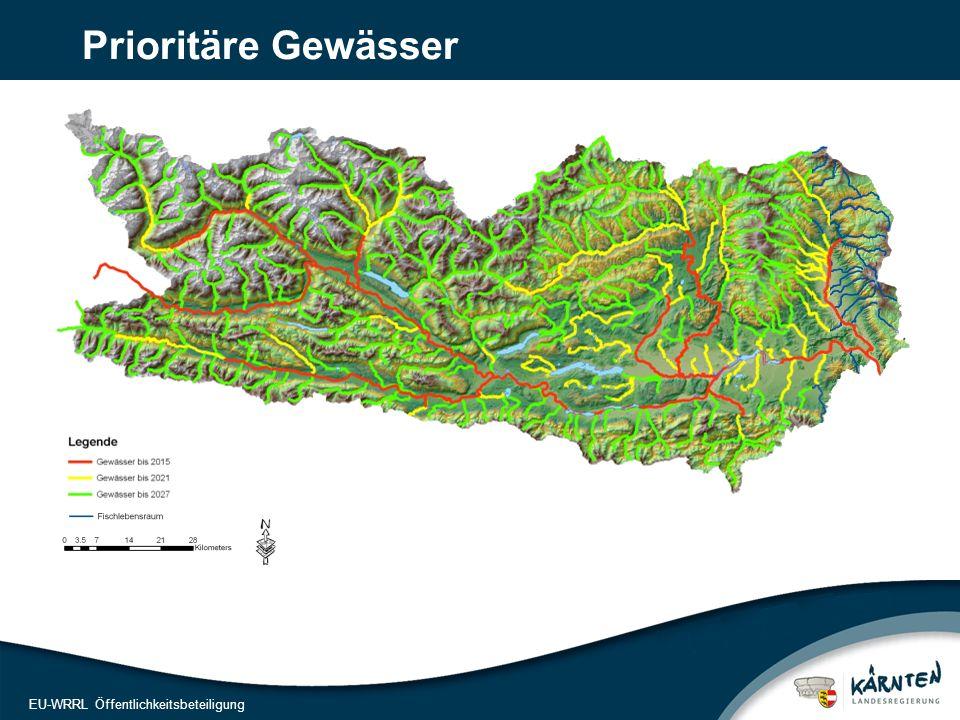 11 EU-WRRL Öffentlichkeitsbeteiligung Prioritäre Gewässer