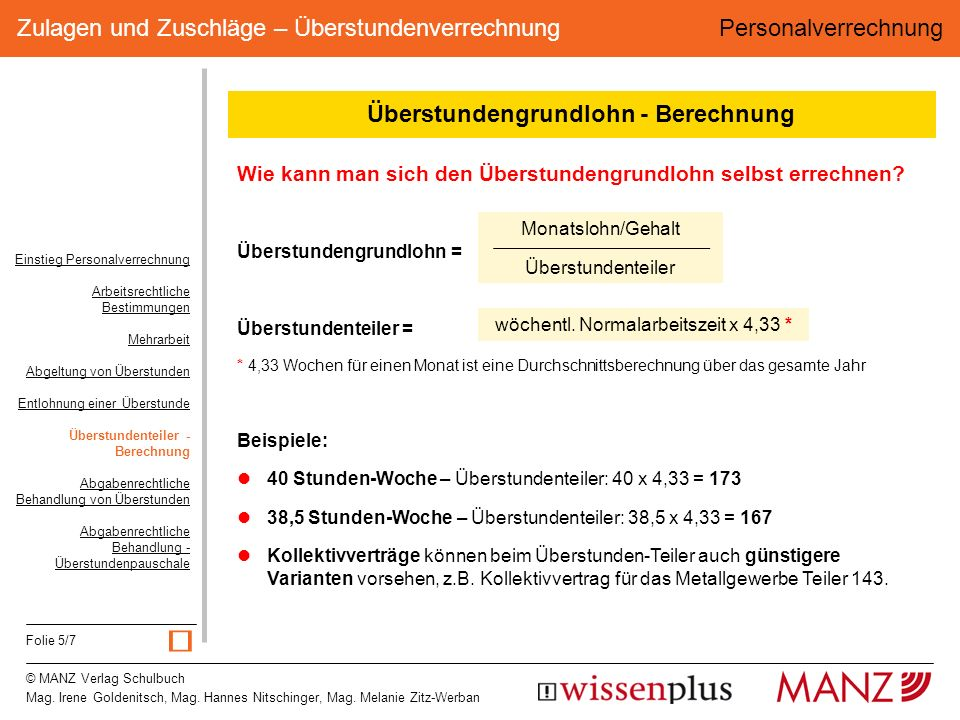 © MANZ Verlag Schulbuch Mag. Irene Goldenitsch, Mag.
