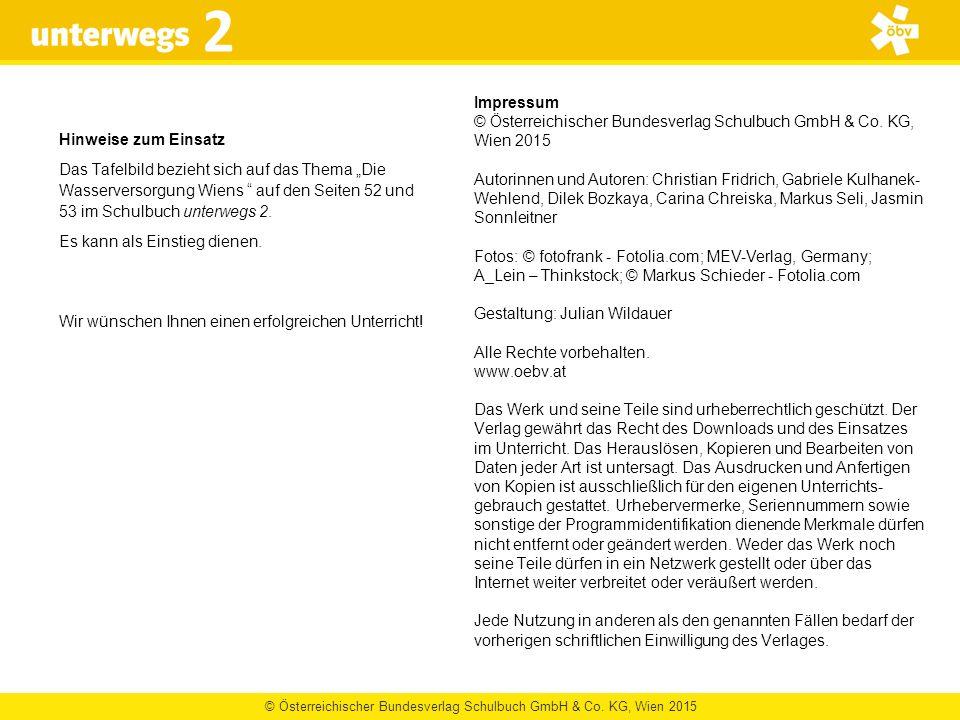© Österreichischer Bundesverlag Schulbuch GmbH & Co. KG, Wien 2015 2 Impressum © Österreichischer Bundesverlag Schulbuch GmbH & Co. KG, Wien 2015 Auto