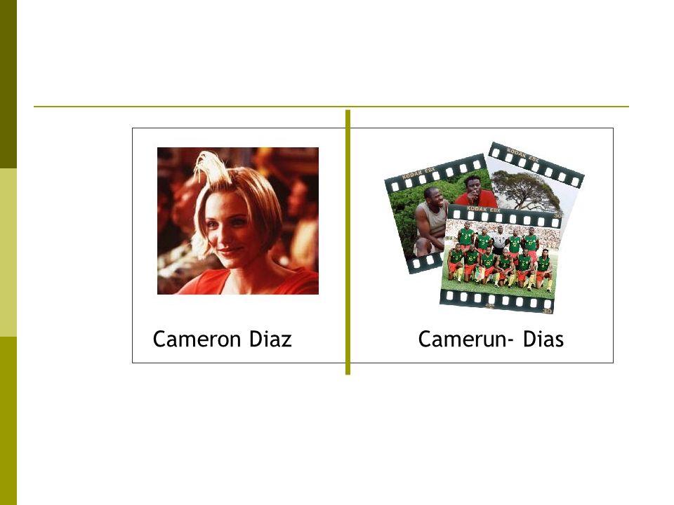 Cameron DiazCamerun- Dias