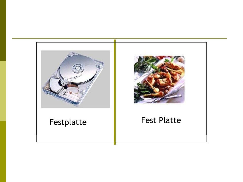 Festplatte Fest Platte