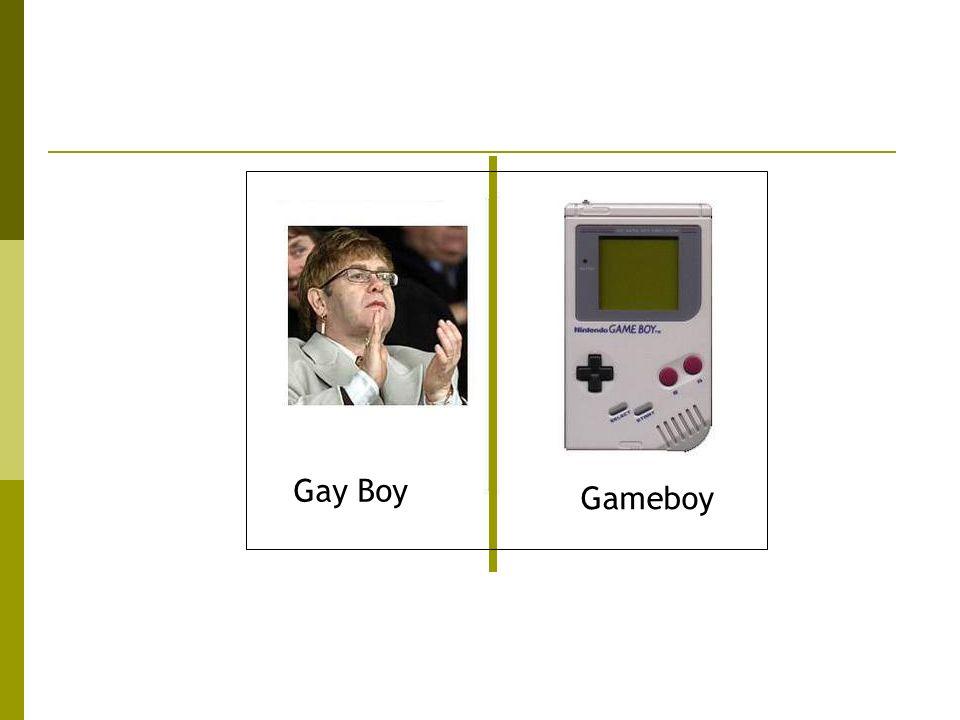 Gay Boy Gameboy