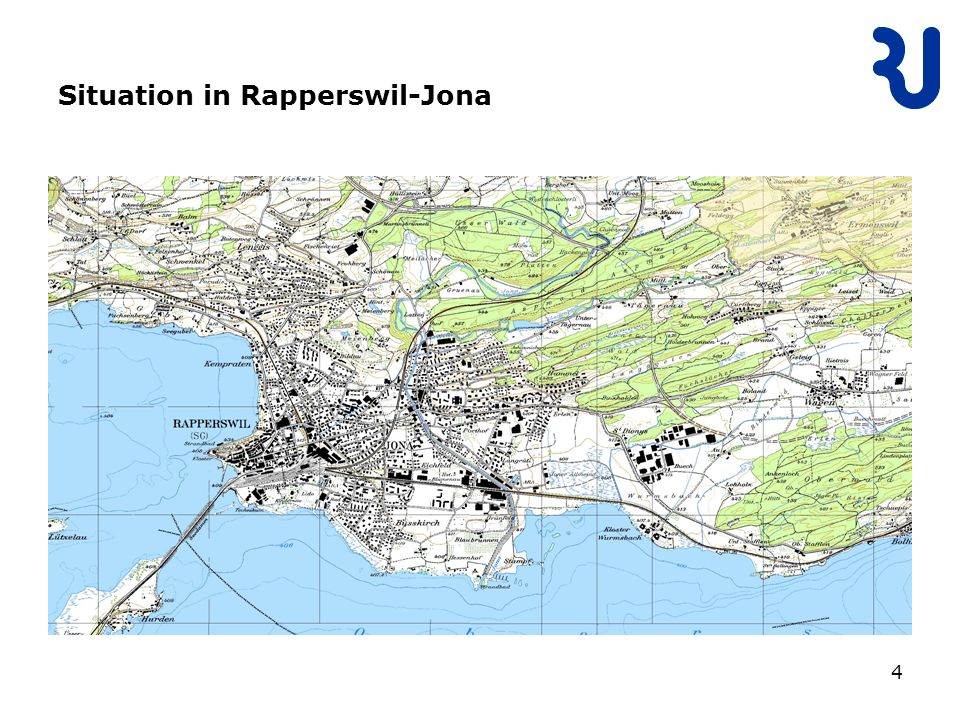 4 Situation in Rapperswil-Jona