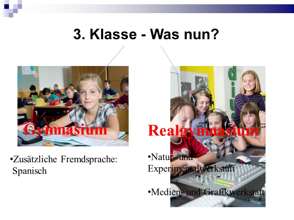 3. Klasse - Was nun.