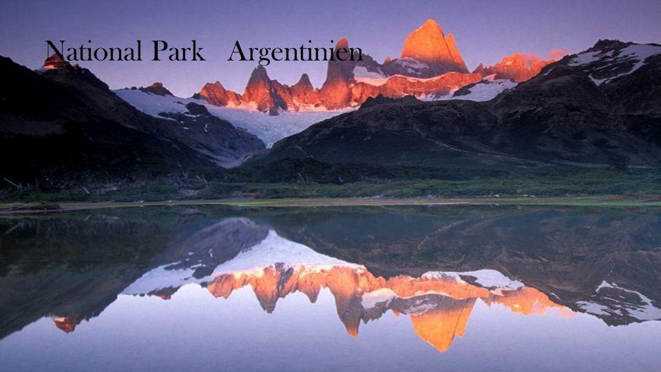 Los Glaciares National Park Argentinien