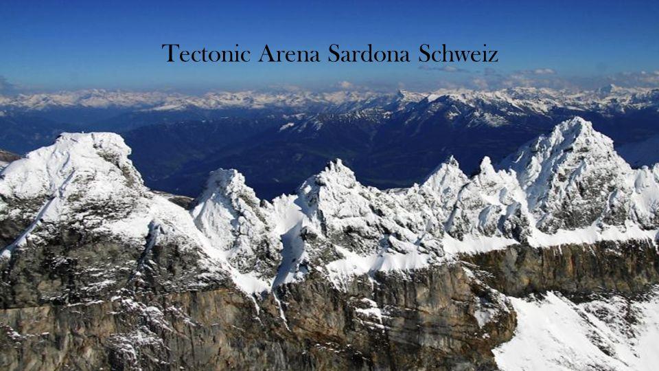 Tectonic Arena Sardona Schweiz