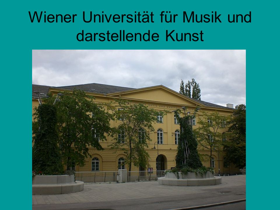 Wiener Universität für Musik und darstellende Kunst