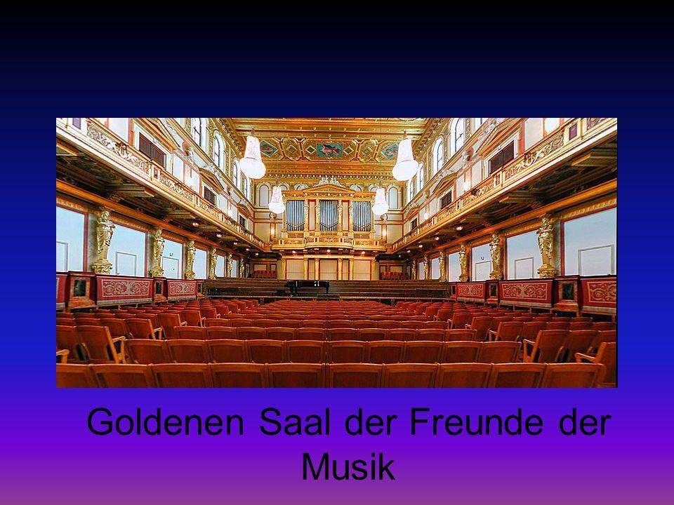 Goldenen Saal der Freunde der Musik