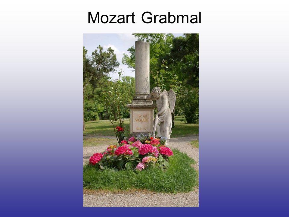 Mozart Grabmal
