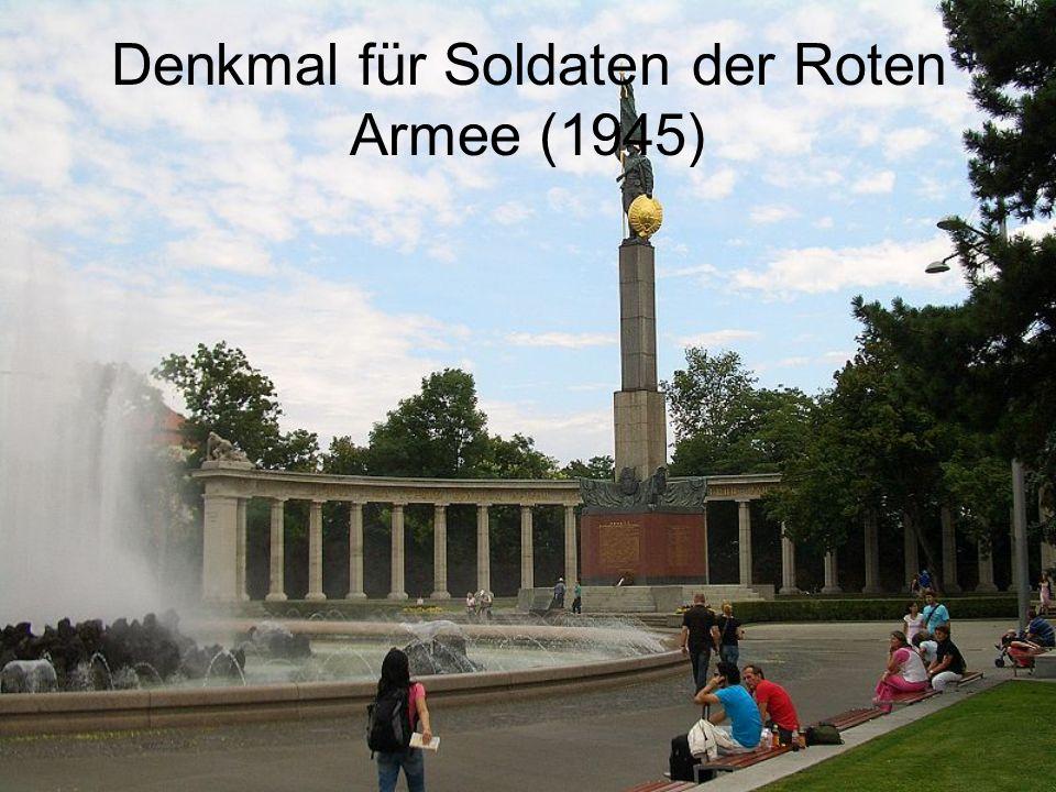 Denkmal für Soldaten der Roten Armee (1945)
