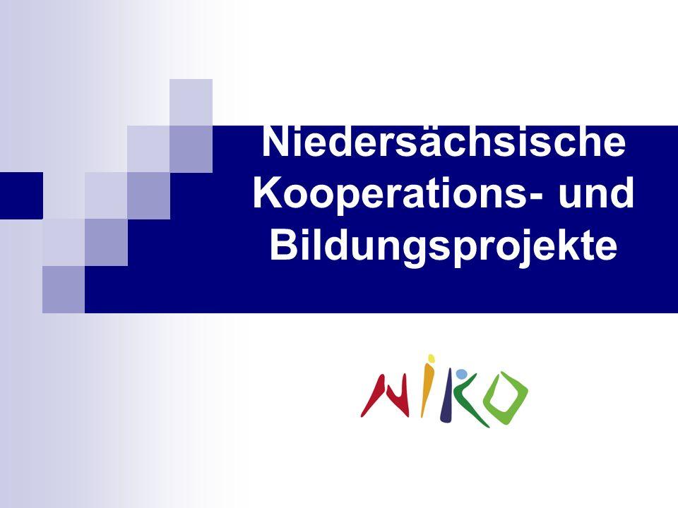"""Niedersächsische Kooperations- und Bildungsprojekte """"NiKo"""