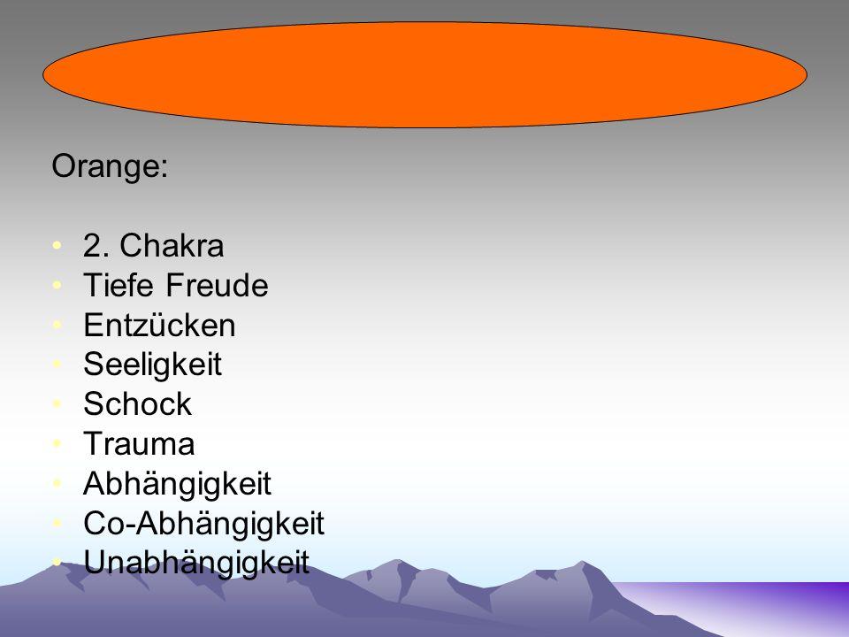 Orange: 2.