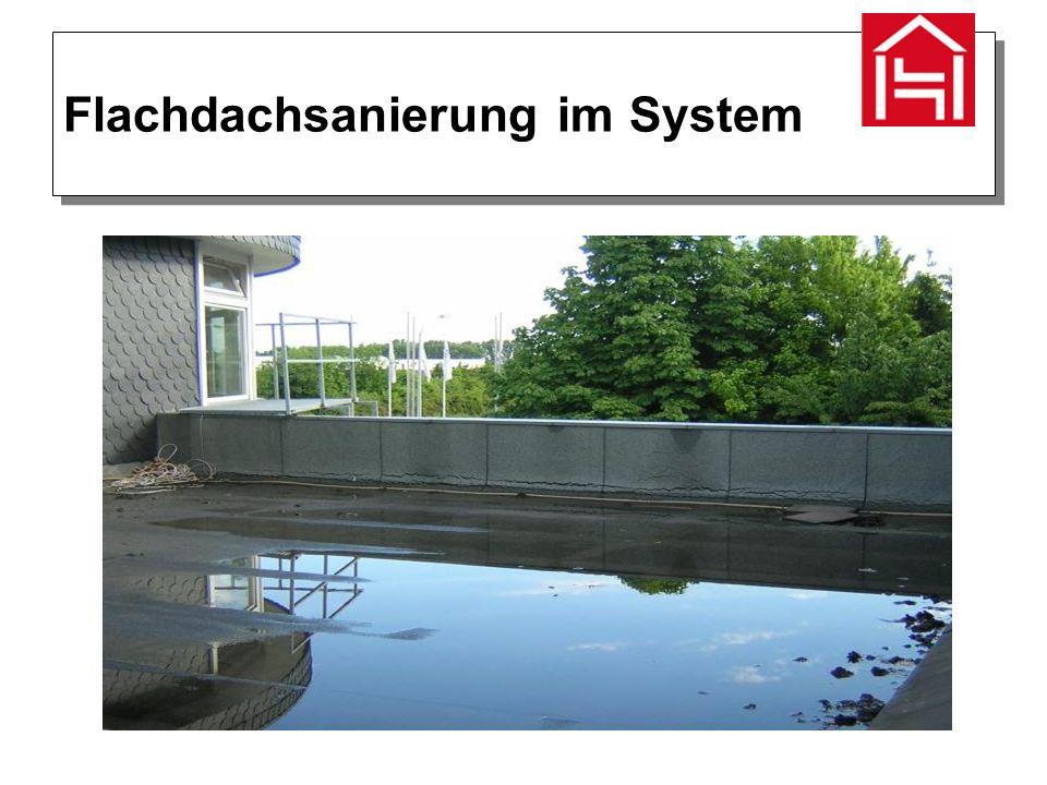 Flachdachsanierung im System