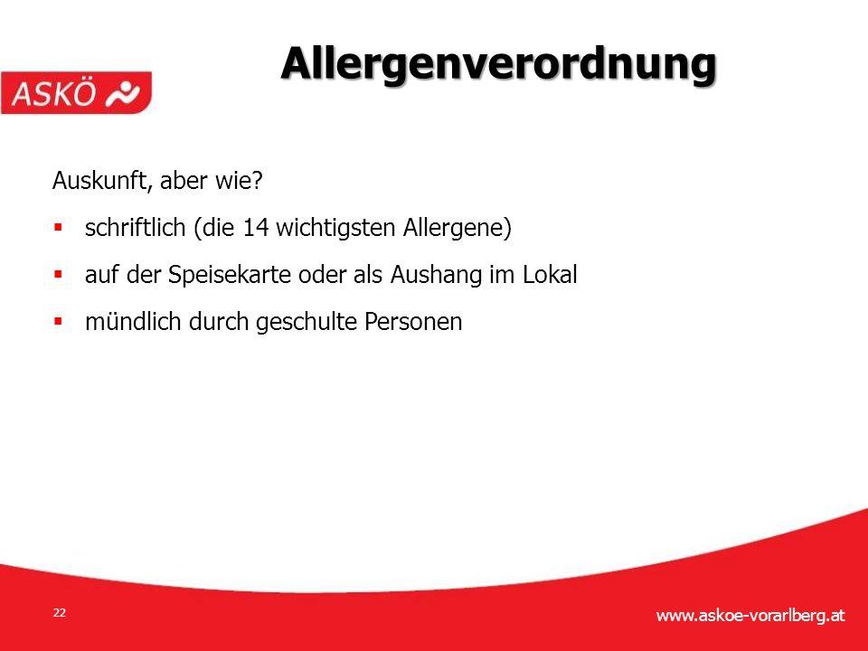 www.askoe-vorarlberg.at 22 Auskunft, aber wie.