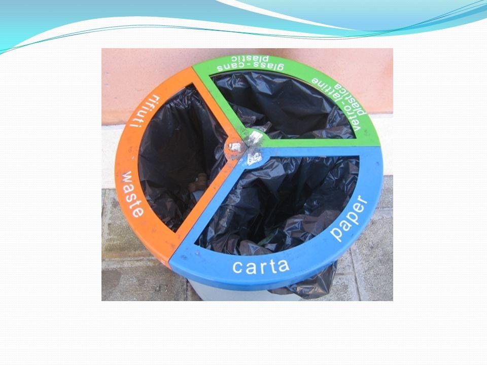 Der ursprüngliche Begriff von Abfall, durch das Gesetz Nr.