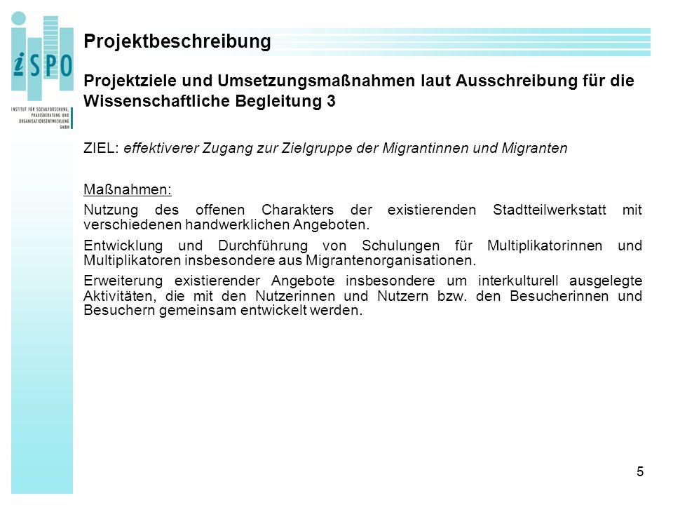 56 Projektergebnisse: Wirkungsbereich Vernetzung Kooperations- und Netzwerkpartner bzw.