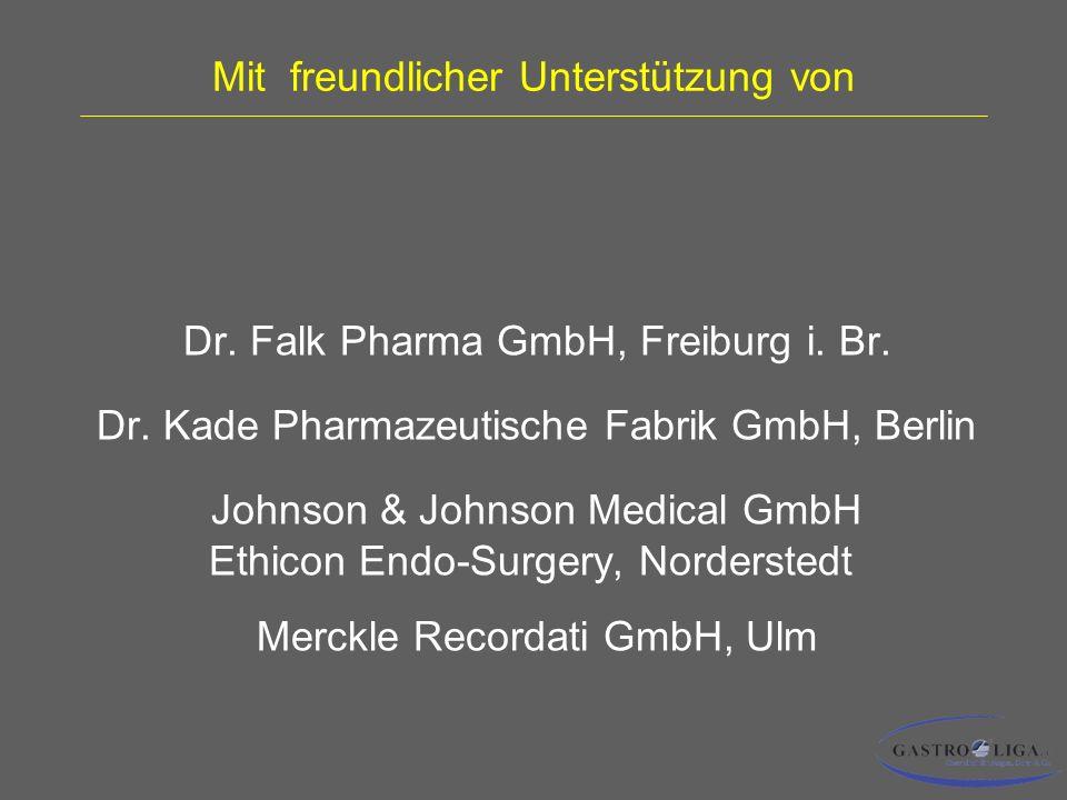 Mit freundlicher Unterstützung von Dr.Falk Pharma GmbH, Freiburg i.