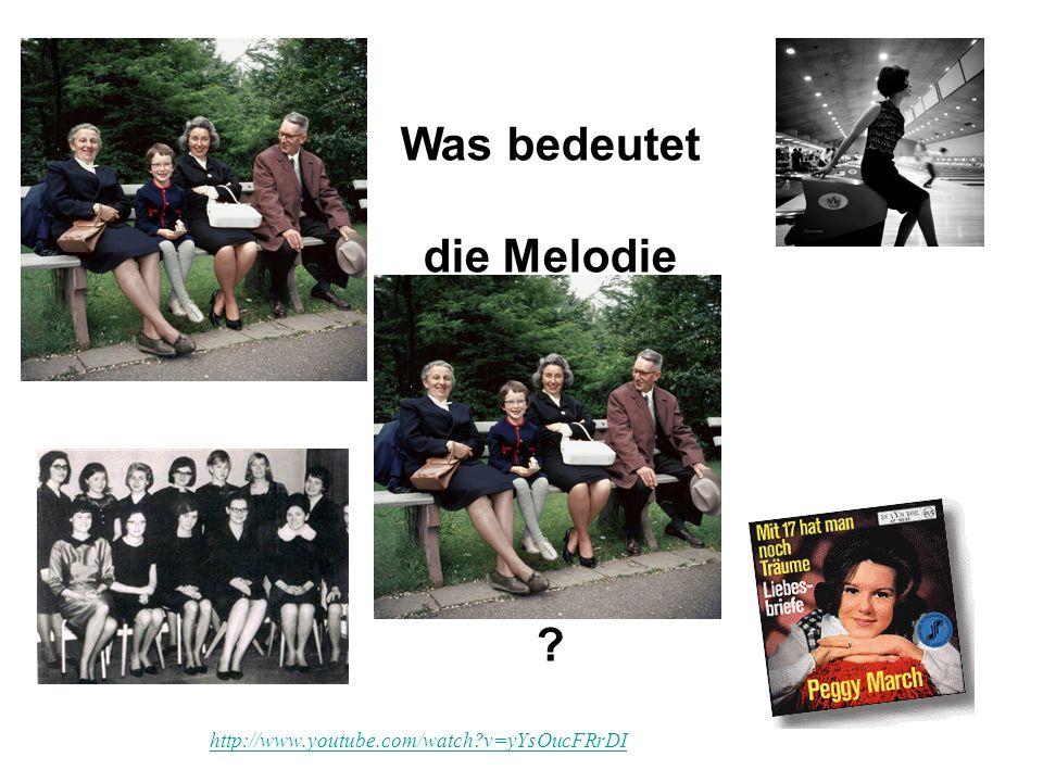 Was bedeutet die Melodie in diesem Schlager von 1965 ? http://www.youtube.com/watch?v=yYsOucFRrDI