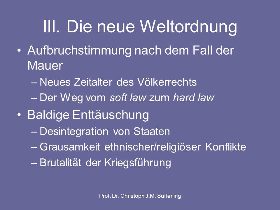 Prof. Dr. Christoph J.M. Safferling Nuremberg revisited