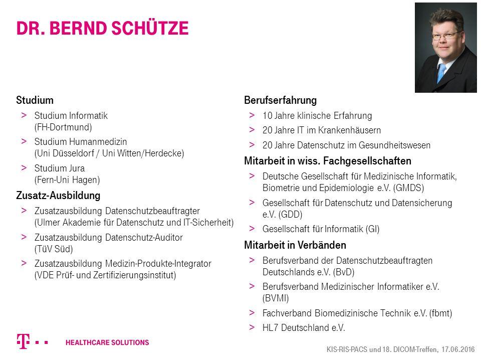 Dr. Bernd Schütze Studium > Studium Informatik (FH-Dortmund) > Studium Humanmedizin (Uni Düsseldorf / Uni Witten/Herdecke) > Studium Jura (Fern-Uni Ha