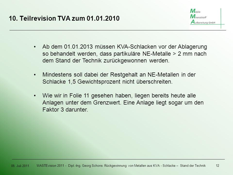 08. Juli 2011 WASTEvision 2011 - Dipl.-Ing.
