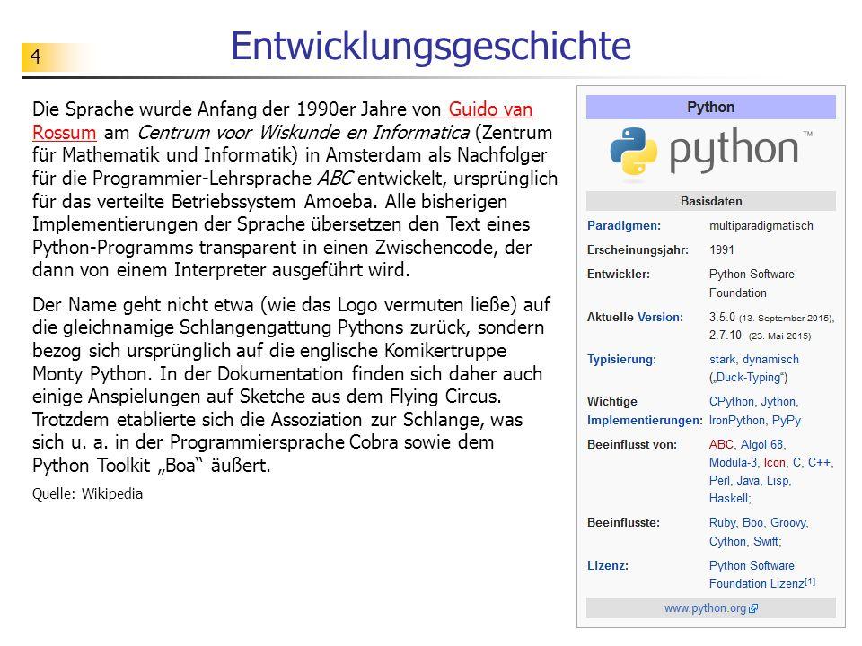 """35 Teil 3 Miniprojekt """"Räuber-Beute-Systeme Datenverwaltung mit Variablen"""