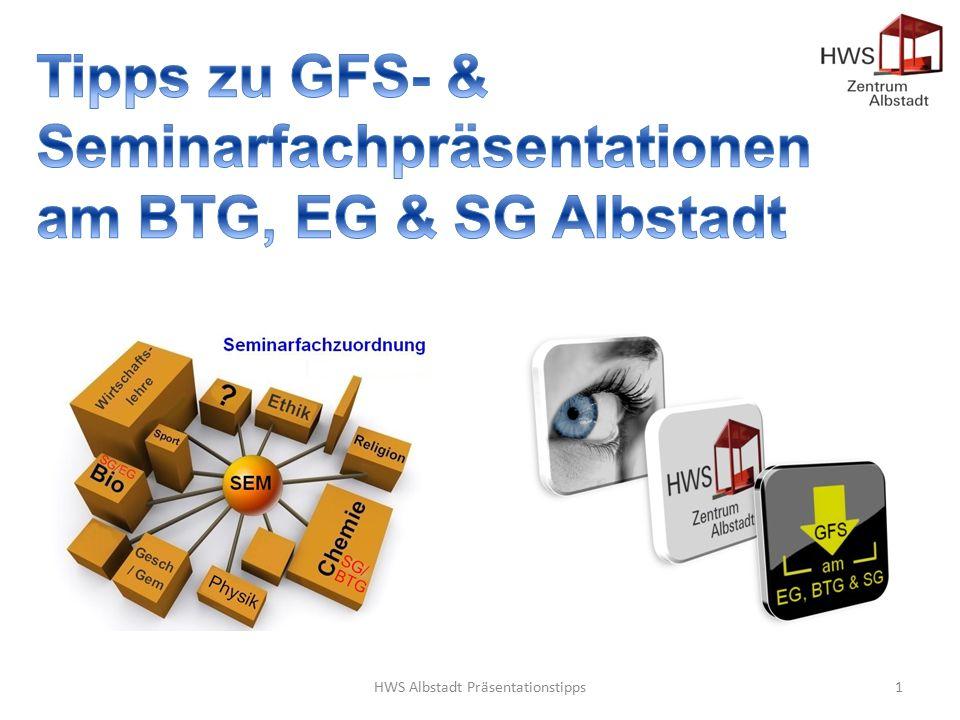 HWS Albstadt Präsentationstipps1