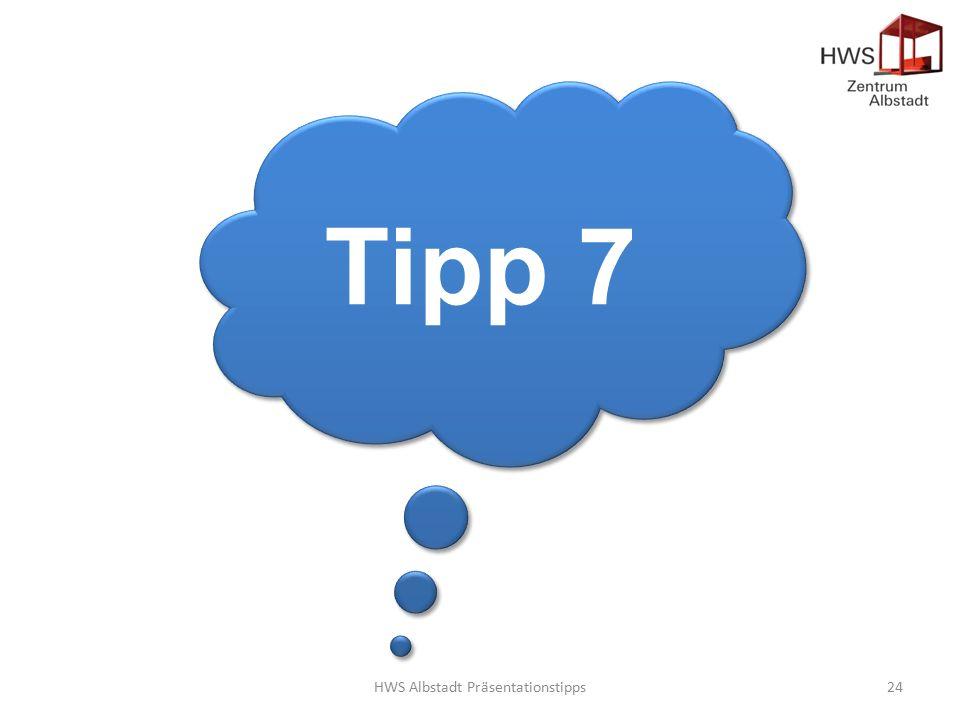 HWS Albstadt Präsentationstipps24 Tipp 7