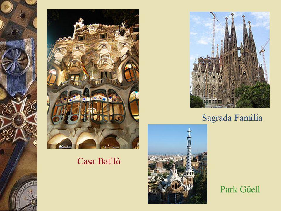Antoni Gaudí * 1852- 1926 * Architekt & Designer
