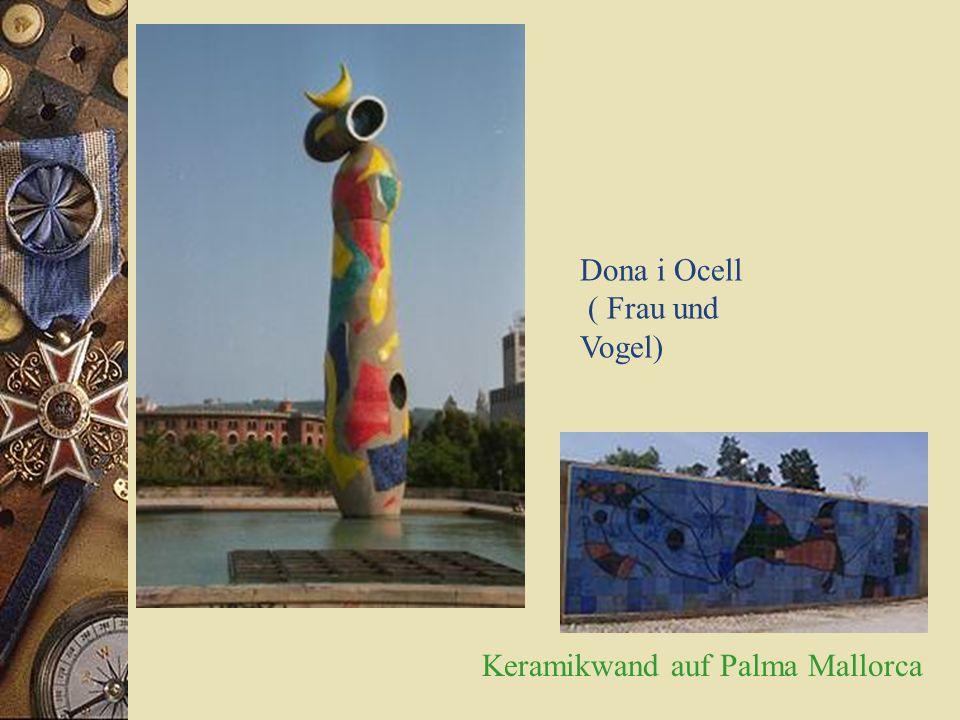 Joan Miró * 1893 – 1983 * Weltberühmter Künstler * Schuf Skulpturen, Grafiken, Keramiken & Wandgemälde
