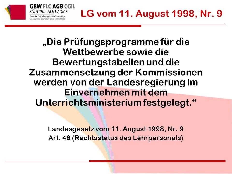 LG vom 11. August 1998, Nr.