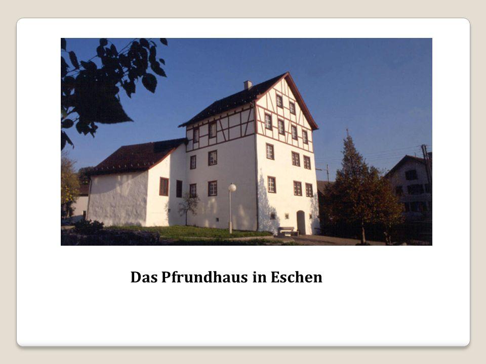 Das Pfrundhaus in Eschen