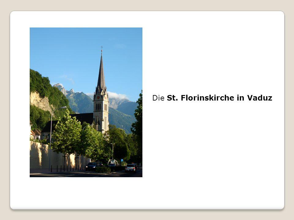 Die St. Florinskirche in Vaduz
