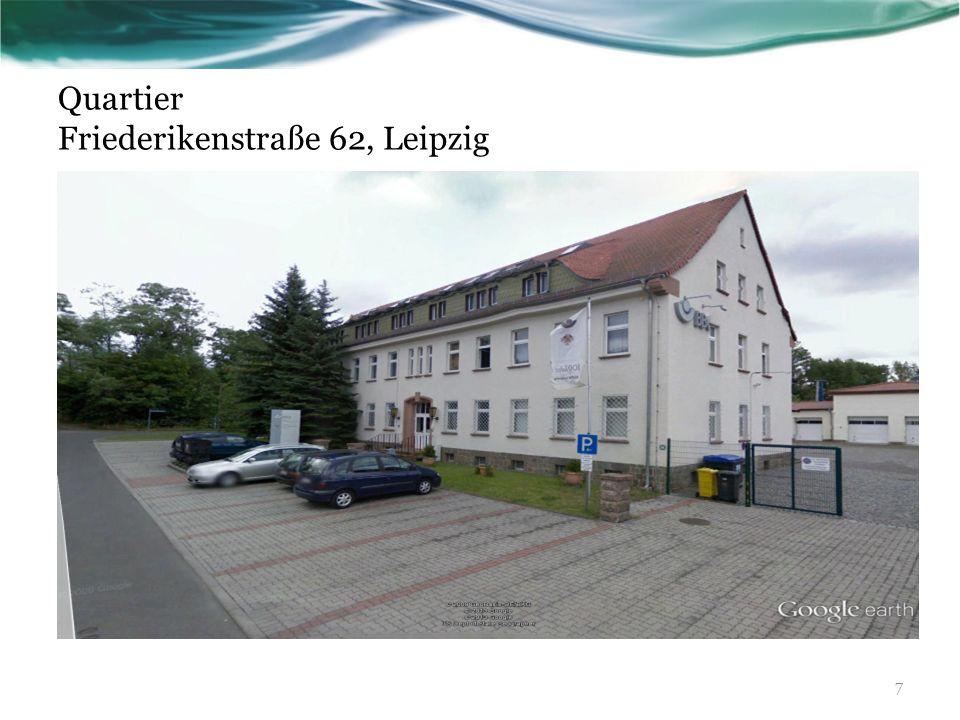 Quartier Friederikenstraße 62, Leipzig 7